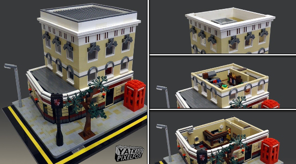 Le fameux LEGO Shaun of the dead