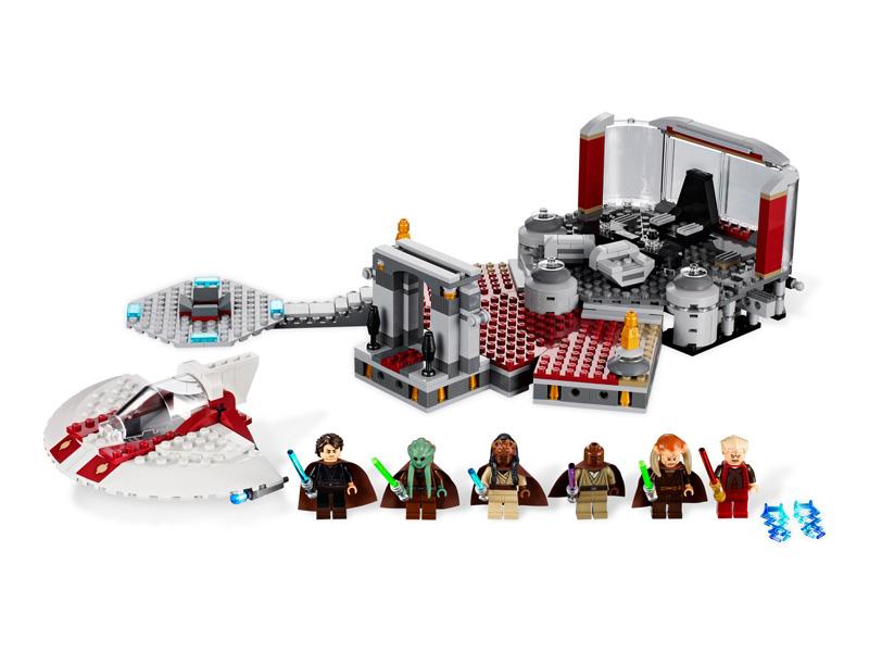 LEGO 9526 L'arrestation de palpatine dans LEGO star11